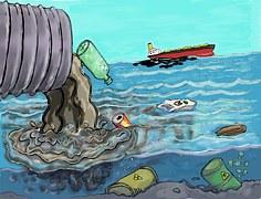 contaminacion rios mares