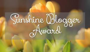 Premio Sunshine Blogger Award