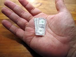 poco dinero