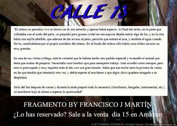 Francisco J. martin Calle 13 publi