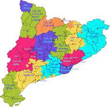 Mapa Catalunya