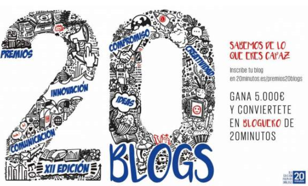 Premios 20Blogs-2018