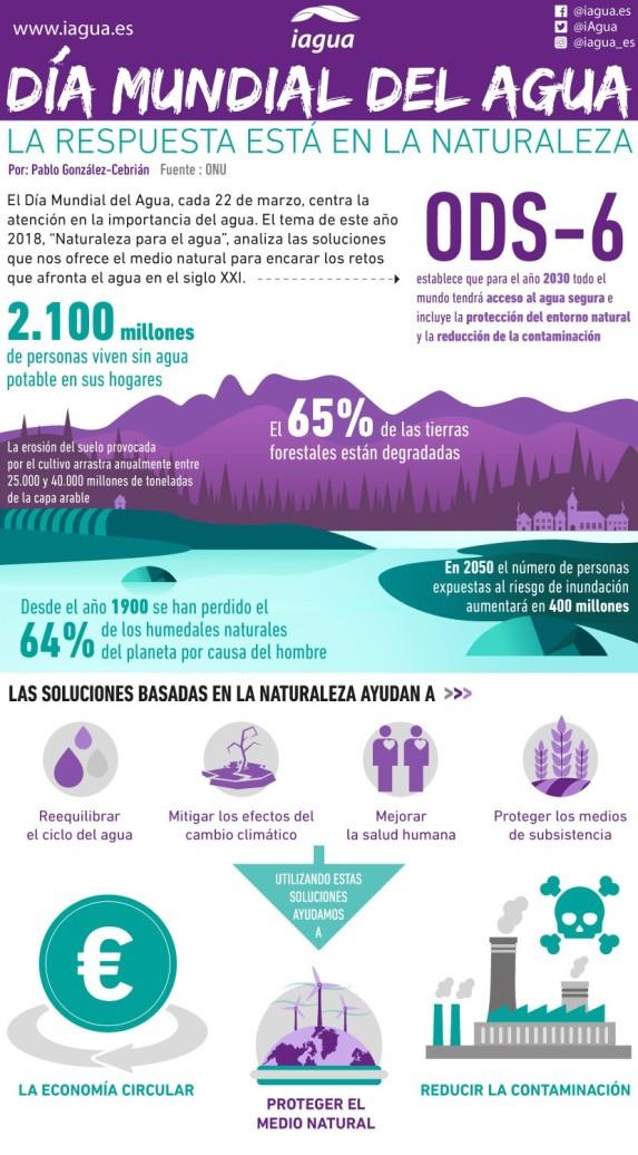 infografia dia mundial del agua 2018