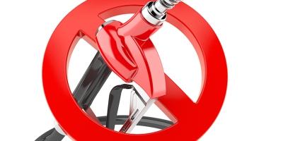 Prohibido combustible