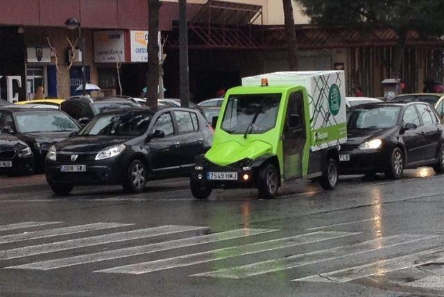 transporte en coche eléctrico