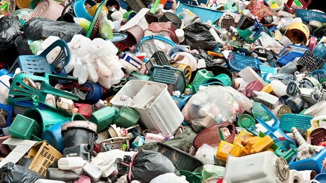 Plástico basura